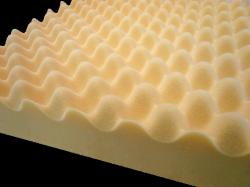 腰痛専用敷き布団の凹凸プロファイルウレタン